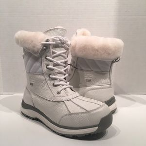 Ugg Adirondack III Patent WP Quilted Boots